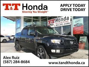2012 Honda Ridgeline Sport *Local Truck, No Accidents, Low KMs*