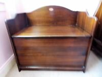 Boori Sleigh Bed, Chest of Drawers/Changing Unit, Wardrobe and Toybox Nursery Furniture