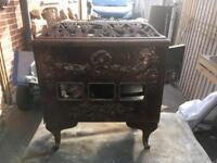 Mirus French Log Burner - Restoration Piece
