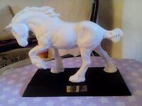 Royal Daulton White Shire Horse..£30.o.n.o.