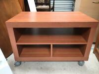 Modern tv cabinet on wheels FREE DELIVERY PLYMOUTH AREA