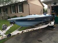 Used Boat, Motor and Trailer - $1000 O.B.O. for entire package.