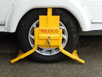 "Milenco Original Wheelclamp to fit caravan 14"" and 15"" wheels (size C14)"