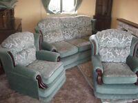 Comfy three piece suite