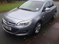 2013 62reg Vauxhall Astra 1.7 Cdti SRI 5 Door Grey Good Runner Face Lift