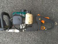 20 inch Petrol hedge trimmer and harness