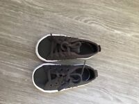 Size 4 kids Adidas trainers