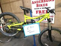 Specialized bikes for sale Ex-hire Great Condition Downhill XC Mountian Bike Cycle Status Camber