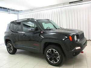2016 Jeep Renegade TRAILHAWK 4x4 SUV w/ NAV, HEATED SEATS & SKY