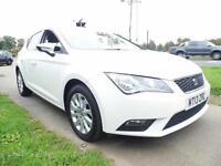 SEAT LEON 1.2 TSI SE DSG Auto (white) 2013