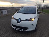 Renault Zoe electric car 64 plate