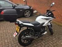 REDUCED - Honda CBF 125 - Extra low mileage, excellent condition with top box and MOT