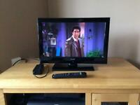 """JMB 16"""" 12v HD led tv with dvd and remote for motorhome caravan boat"""