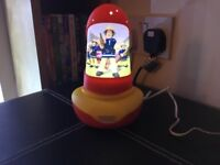 Fireman Sam go glow night light