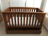 Osborne oak mamas & papas nursery furniture