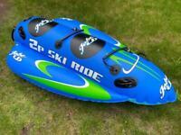 Jobe towable inflatable 2 person ski ride bundle