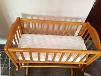 Rocking Crib in very good condition