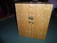 Fly Tie Fishing Cabinet + Contents