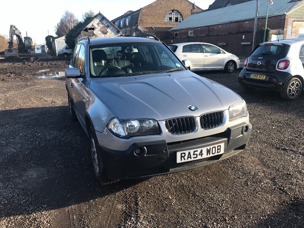 BMW X3 2004/54 PLATE DIESEL MANUAL 6SPEED