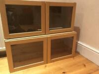 Free Ikea Billy Olsbo top shelving unit. (Set of 2) minutes