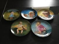 Set of Plates by Donald Zolan