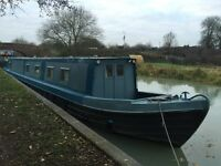 Spacious Narrowboat for sale for live aboard