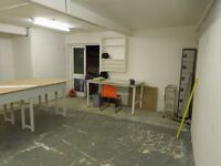 ARTIST STUDIO SPACE TO LET IN CAMBERWELL - 16th Oct 2016