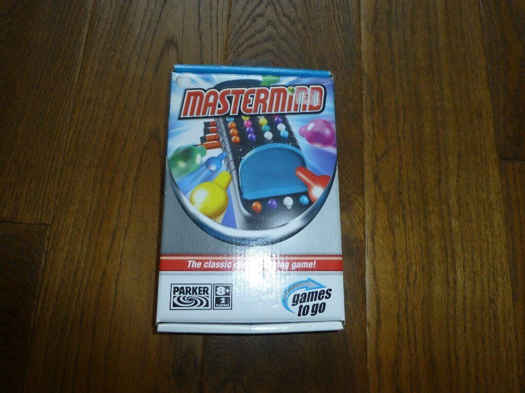 Brand new never used Travel Mastermind game by Parker