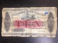 Northern bank limited ten pounds 1943
