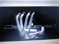 suzuki motorcycle .bandit 650 brand new boxed s, steel header downpipes ,