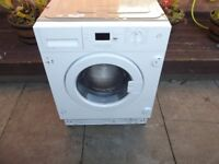 BEKO 7KG INTEGRATED WASHING MACHINE IN GOOD CLEAN WORKING ORDER RRP £329