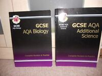 GCSE AQA Additional Science and Biology Revision Guides