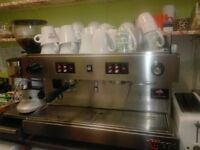 Commercial Coffee Machine & Grinder