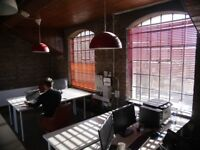 4 DESK SPACES IN SHARED OFFICE - AVAILABLE NOW - BRIGHTON