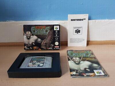 Bio Freaks N64 Complete Rare