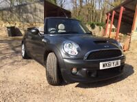 Mini Cooper S Convertible - lovely condition