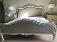 French King Sized bed including mattress