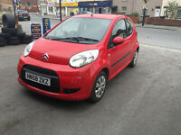 Citroen C1 1.1 Petrol 3 Door Manual Hacgback Red Stunning Car Low Mileage £20 Road Tax