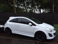 Vauxhall corsa limited edition white 1.2 61 reg