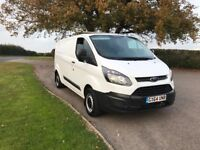 Transit custom 64 plate no vat good van clean ready to use not trend connect sport traffic vivaro