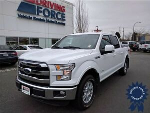 2016 Ford F-150 Lariat FX4 SuperCrew Short Box Truck, 28,642 KMs
