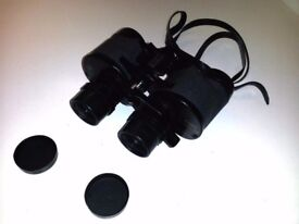 Zoom Binoculars 7-15 x 35 with Strap and Carry Case