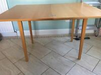 Ikea Justa Dining Table Fold-out Seats 2 or 4