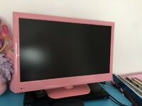 Pink 24 inch TV