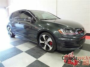 2015 Volkswagen Golf GTI Autobahn, Navigation, Power Sunroof