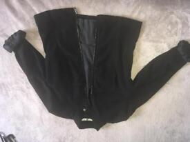 Black blazer size 8