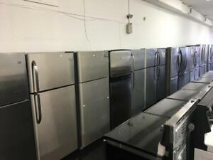 ECONOPLUS LIQUIDATION SALE ON A WIDE SELECTION OF STAINLESS STEEL FRIDGES  FROM  399.99 $ TAXES INCLUDED