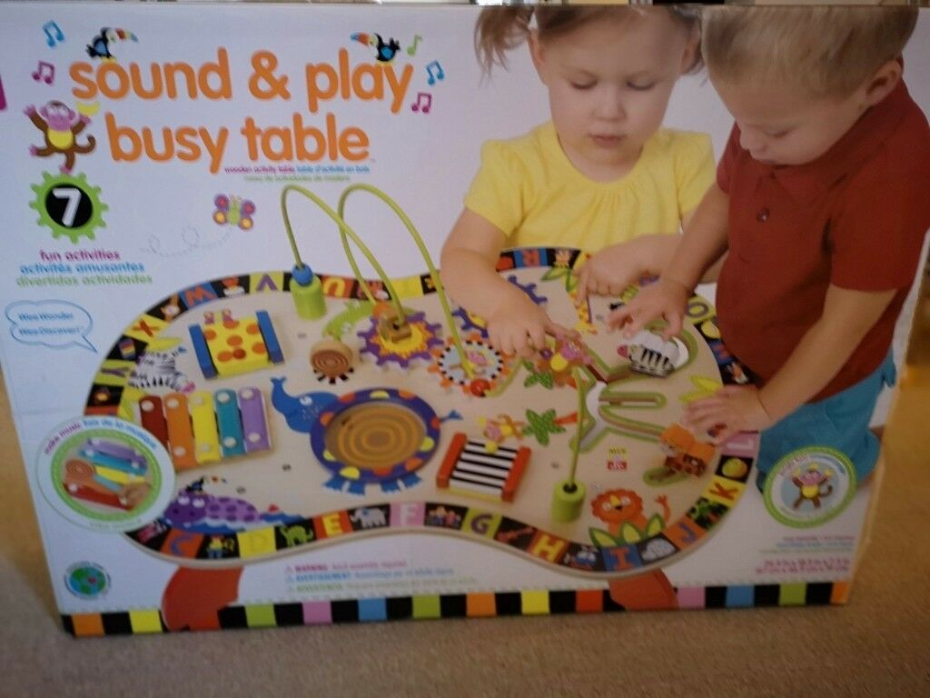 Alex Jr Sound And Play Busy Activity Table In Whitley Bay Tyne