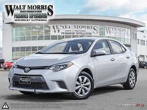 2016 TOYOTA COROLLA LE: NO ACCIDENTS, LOCALLY OWNED