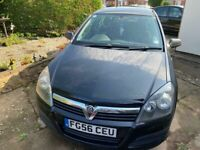 Vauxhall Astra, 2007 (56 reg), 2 former keepers, MOT 2021, Has had cambelt replaced, Logbook/2 keys.